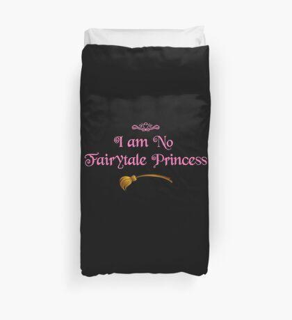 Ich bin keine Märchenprinzessin - Dark Pink Bettbezug