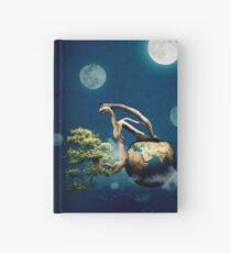 Green planet Hardcover Journal