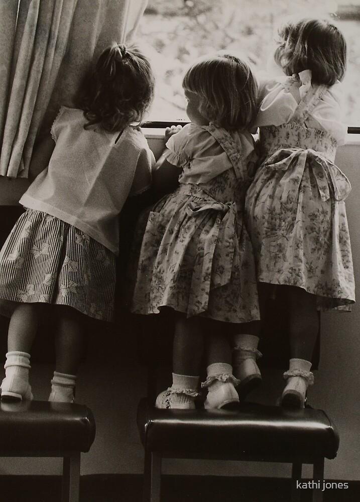 three little girls by kathi jones
