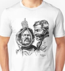 """Eli Wallach Franco Nero movie poster """"Long Live Your Death"""" western Unisex T-Shirt"""