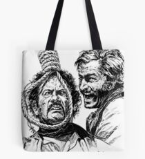 "Eli Wallach Franco Nero movie poster ""Long Live Your Death"" western Tote Bag"