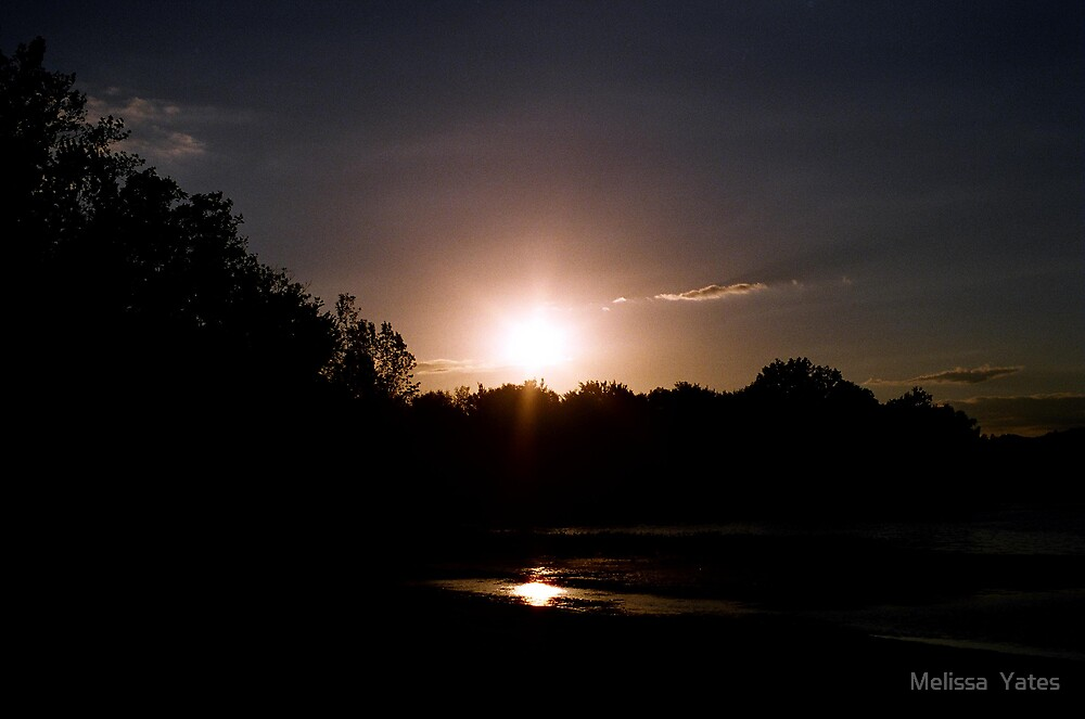 Dark Sunset by Melissa  Ousley