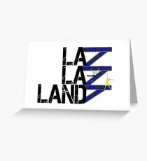 West Side Land - White Greeting Card