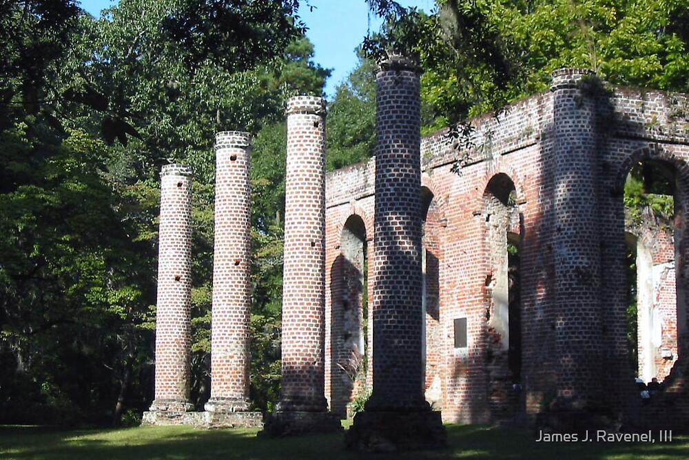 Shelden Church Ruins-3 by James J. Ravenel, III