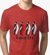 Penguin Dance Off Tri-blend T-Shirt