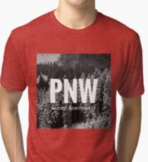 PNW - The Pacific Northwest Tri-blend T-Shirt