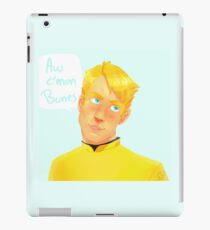 Jim T. Kirk - Aw c'mon Bones iPad Case/Skin
