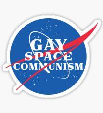 NASA Parody Gay Space Communism Sticker