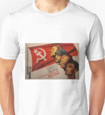 Spanish Civil War Poster - Socialist Party of Catalonia (1930s) Unisex T-Shirt