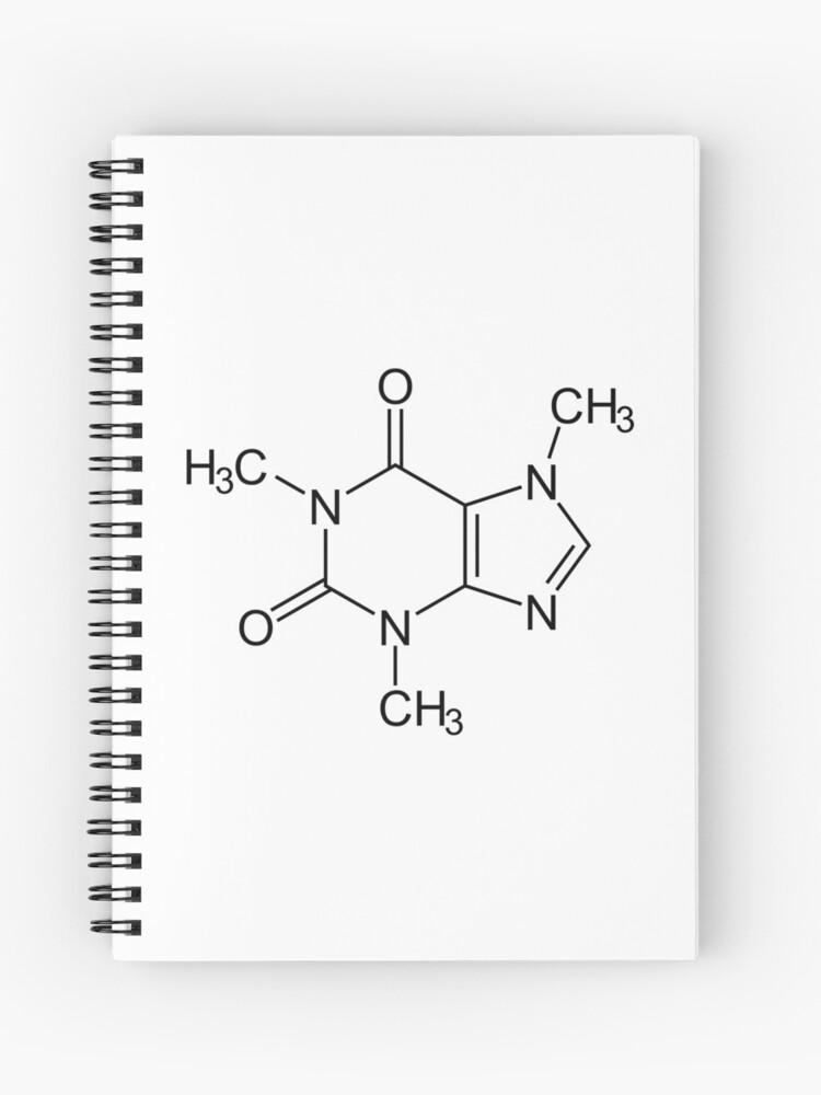 Kaffee Koffein Chemische Verbindung Spiralblock
