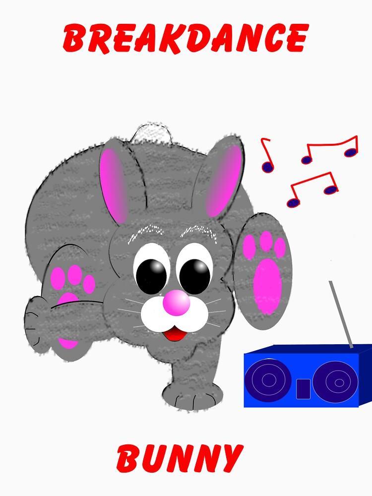 Breakdance Bunny Shirt by EddyG