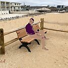 Sitting at the Beach by storecee
