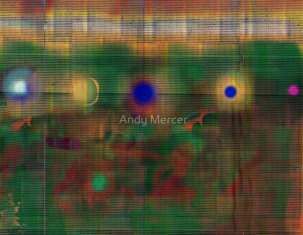 Industrial Abstract 7  by Andy Mercer