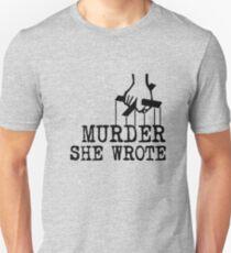 Murder she wrote Unisex T-Shirt