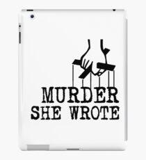 Murder she wrote iPad Case/Skin