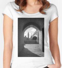 Big Ben, London, England Women's Fitted Scoop T-Shirt