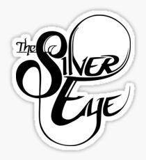The Silver Eye Logo Black Sticker