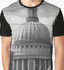 St Pauls Cathedral, London, England Graphic T-Shirt