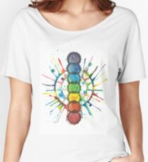 Chakra Energy  Women's Relaxed Fit T-Shirt