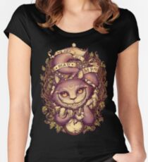 CHESHIRE CAT Women's Fitted Scoop T-Shirt