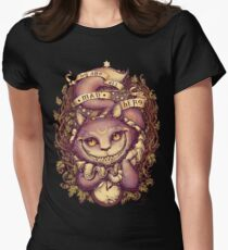 CHESHIRE CAT Women's Fitted T-Shirt