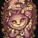 CHESHIRE CAT by Medusa Dollmaker