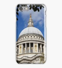 St pauls cathedral, London, England iPhone Case/Skin