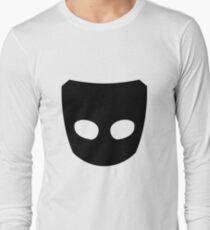 Grindr Logo Black Long Sleeve T-Shirt