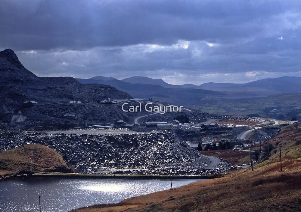 Blaenau Ffestiniog - Wales  by Carl Gaynor