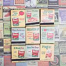Vintage Matchbooks by Edward Fielding