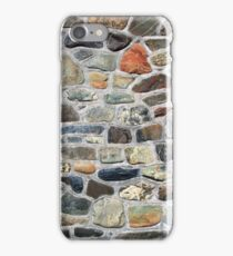 gray stones texture background iPhone Case/Skin