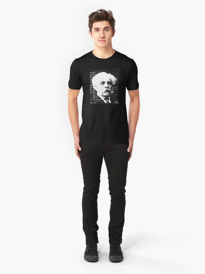 Alternate view of Gabriel Fauré Slim Fit T-Shirt