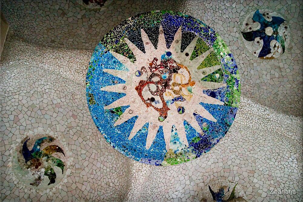 Gaudí's Palace - Detail by Zeanana