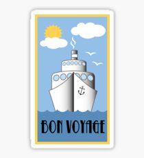 Bon Voyage Cruise Sticker
