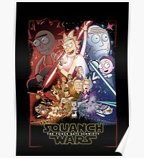 The Squanch Wars Poster