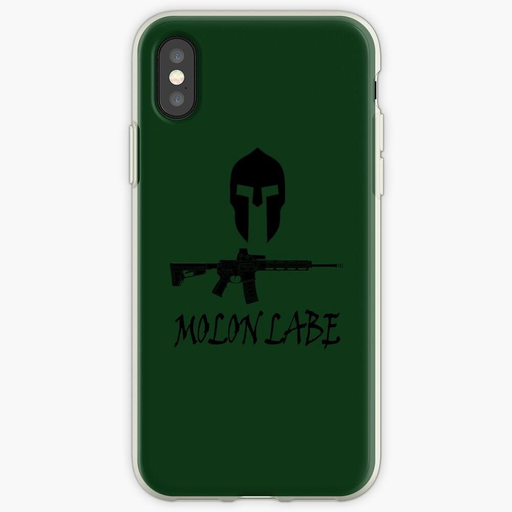 Molon Labe  iPhone Cases & Covers