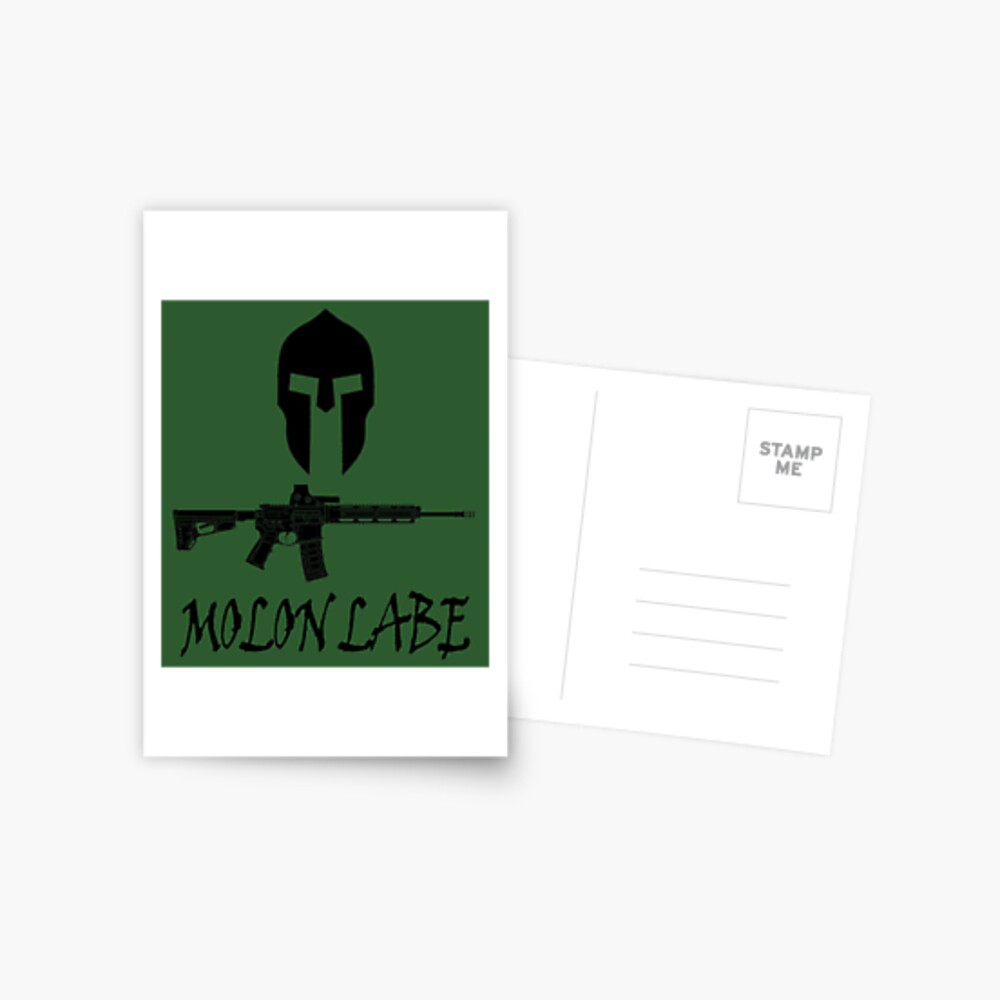 Molon Labe  Postcard