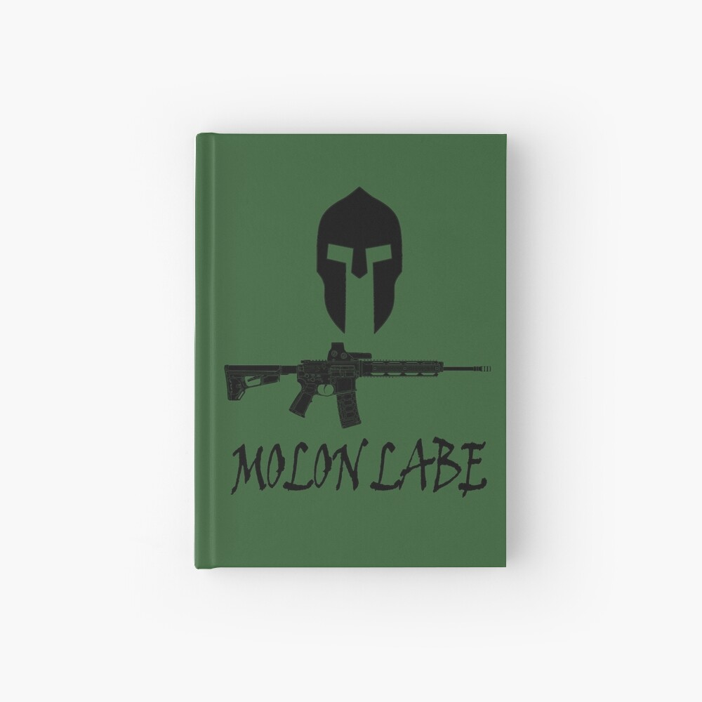 Molon Labe  Hardcover Journal