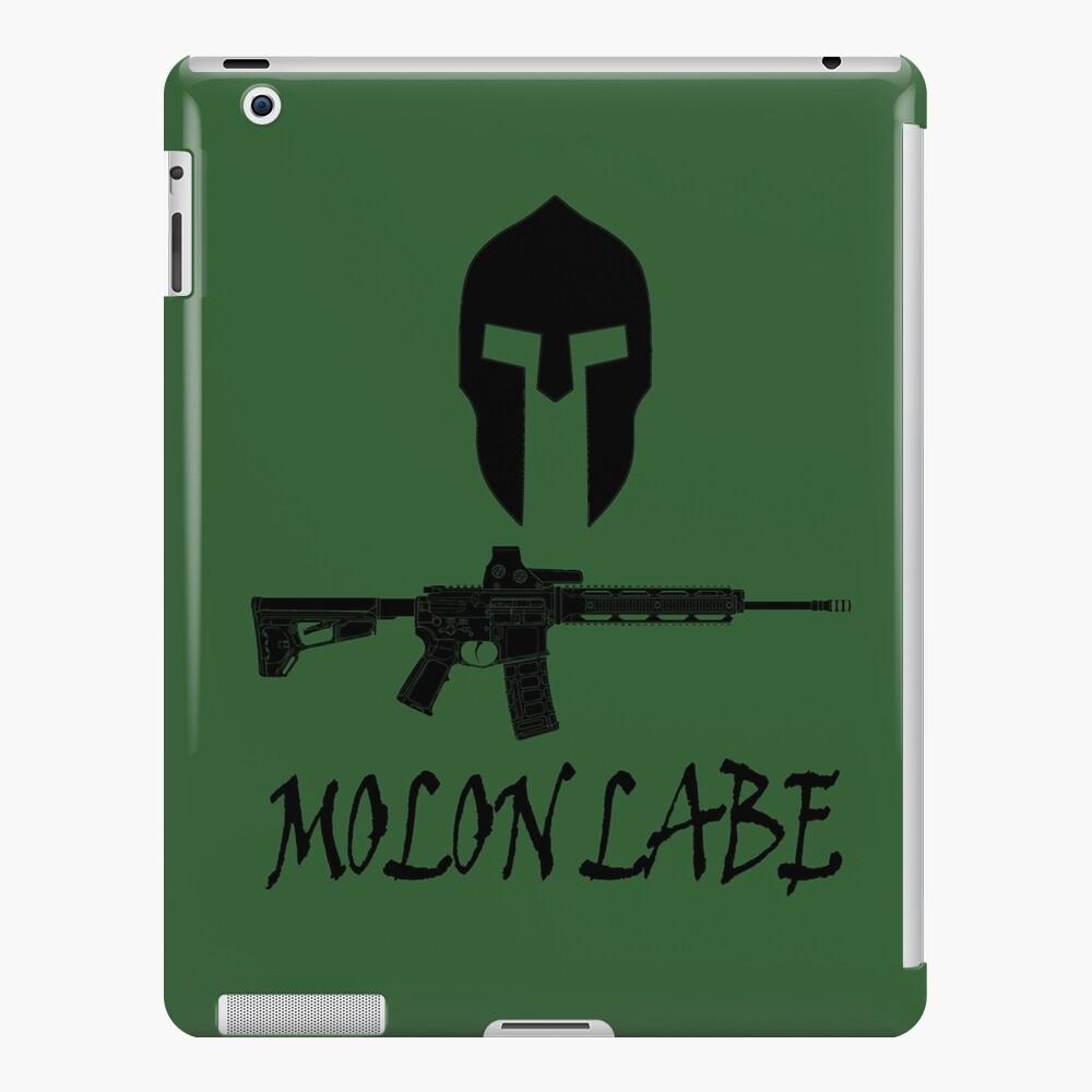 Molon Labe  iPad Case & Skin