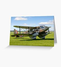 DH.89a Dragon Rapide G-AGJG Greeting Card
