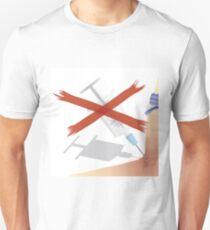 stop drugs Unisex T-Shirt