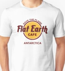 Flat Earth Designs - Flat Earth Cafe  Unisex T-Shirt