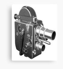 Camcorder, Retro, Video Kamera, Canvas Print