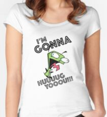 I'm Gonna Hug You Women's Fitted Scoop T-Shirt