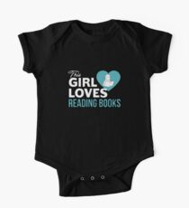 This Girl Loves Reading Books One Piece - Short Sleeve