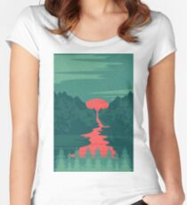 The Red River Women's Fitted Scoop T-Shirt