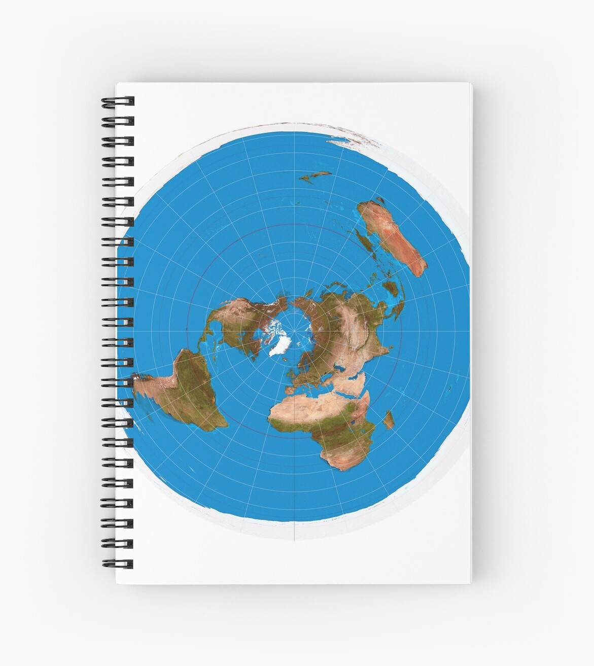Official Flat Earth Map.Flat Earth Map 1 Azimuthal Equidistant Projection Spiral