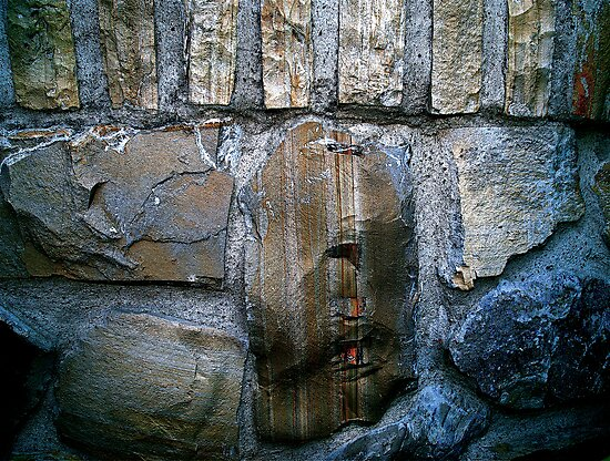 Stone Abstract by Julie Marks