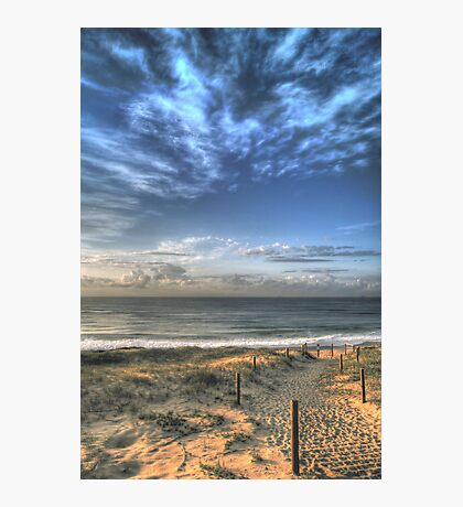 Magenta Shores  Photographic Print