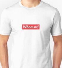 Whomst'd Slim Fit T-Shirt